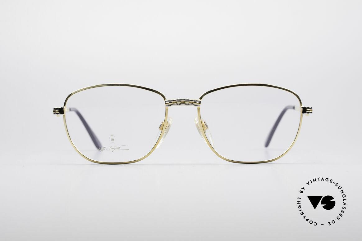 Bugatti EB507 Classic Luxury Eyeglasses, vintage eyeglasses of the Ettore BUGATTI Collection, Made for Men