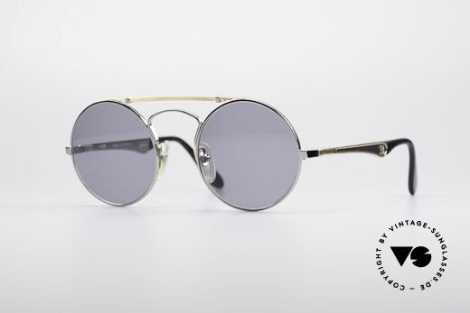 Bugatti 11726 Round Luxury Sunglasses Details
