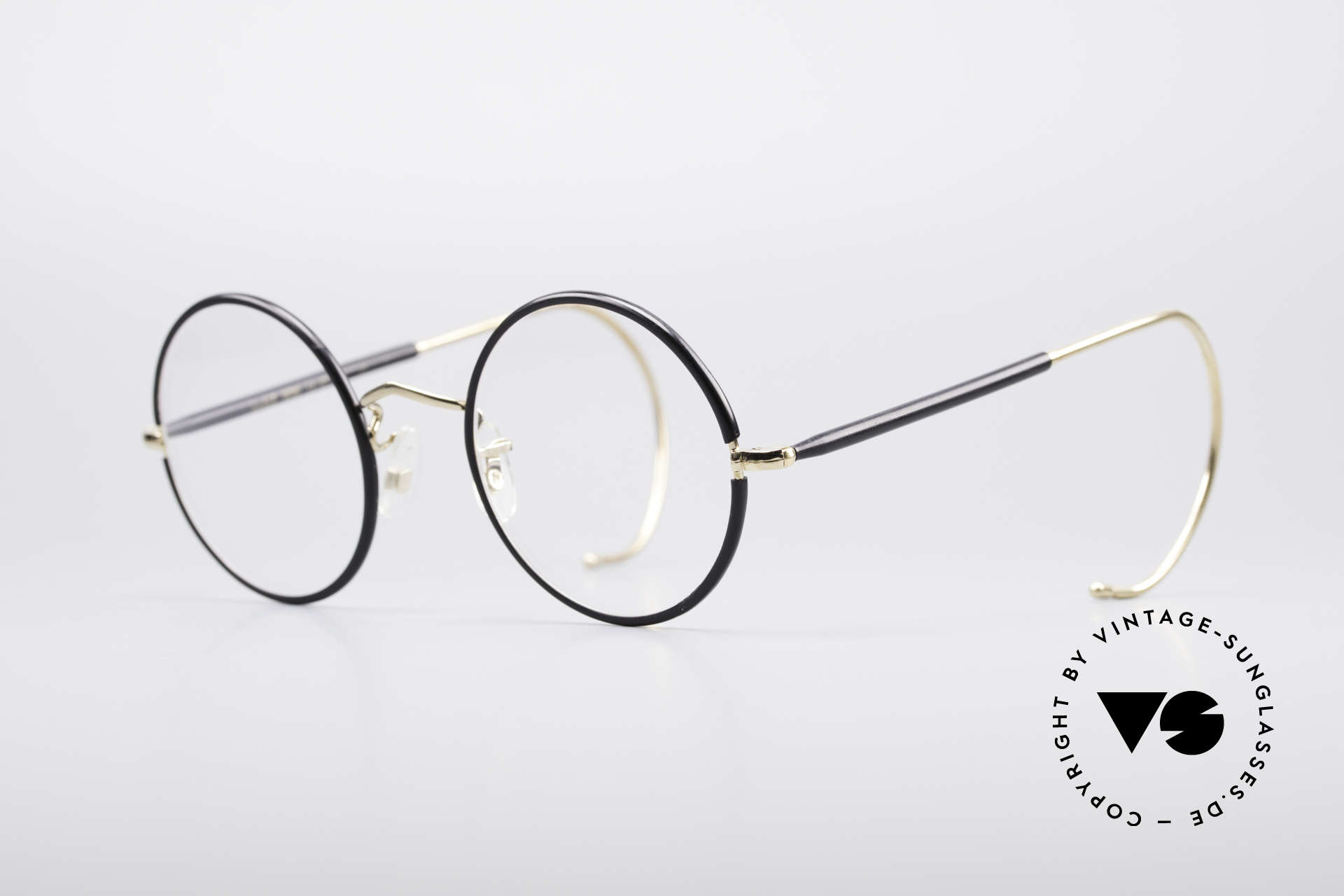 Savile Row Round 47/22 Harry Potter Glasses, finest manufacturing (gold-filled), made in England, Made for Men