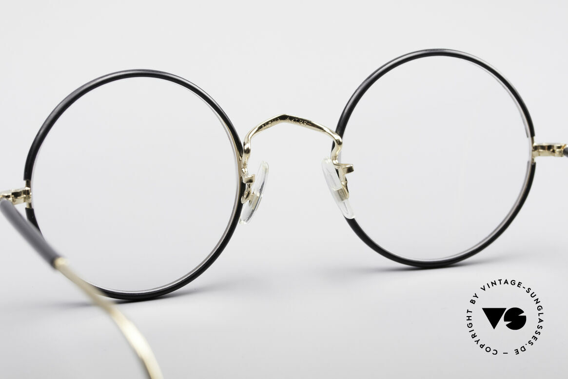 Savile Row Round 47/22 Harry Potter Glasses, unworn 'New Old Stock = NOS' rarity in size 47/22, Made for Men
