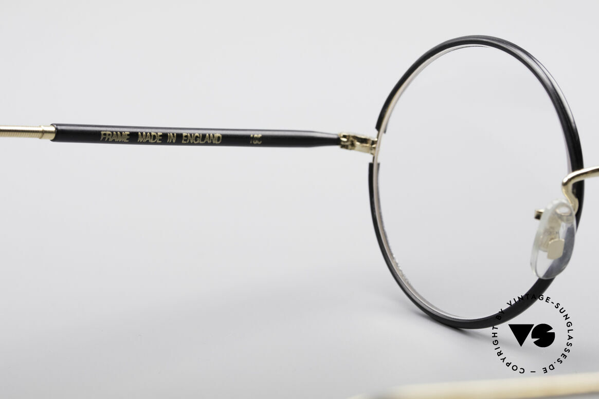 Savile Row Round 47/22 Harry Potter Glasses, NO RETRO frame, but a min. 30 years old ORIGINAL, Made for Men