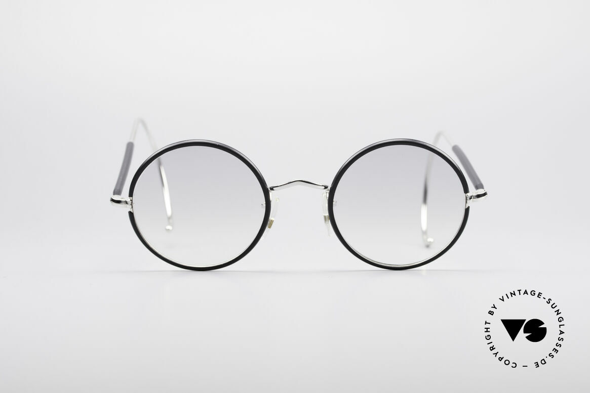 Savile Row Round 44/20 Harry Potter Glasses, timeless round vintage sunglasses from the 1980's, Made for Men