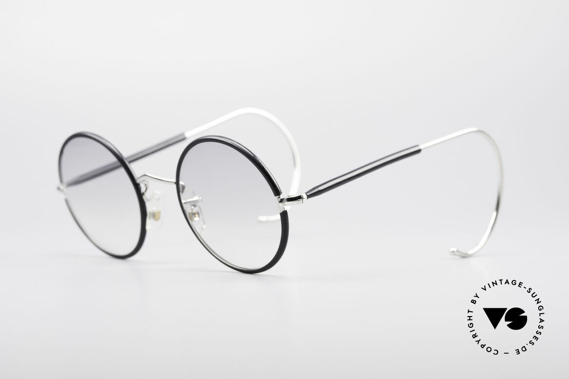 Savile Row Round 44/20 Harry Potter Glasses, finest manufacturing (gold-filled), made in England, Made for Men