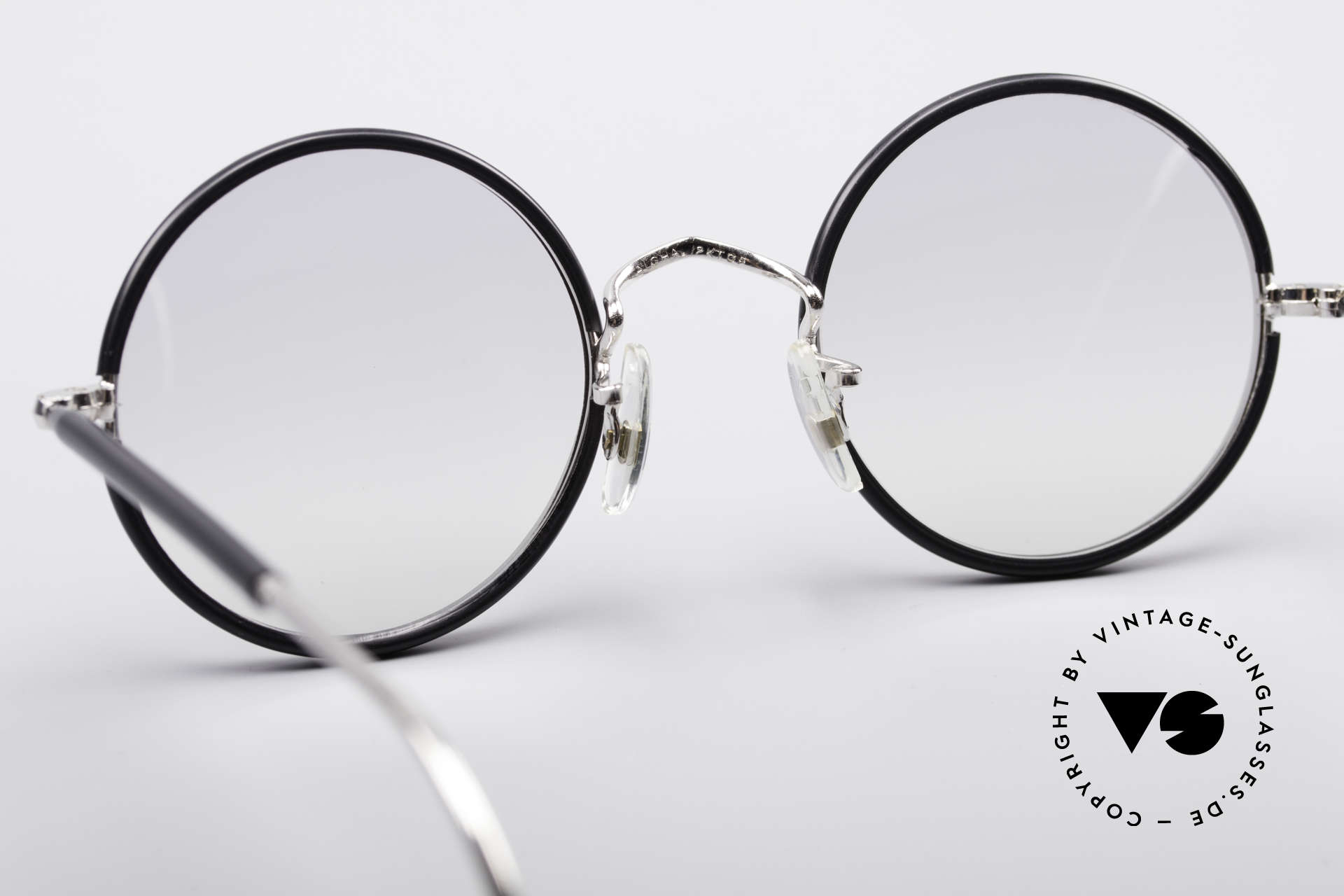 Savile Row Round 44/20 Harry Potter Glasses, unworn rarity, SMALL size 44/20, light tinted lenses, Made for Men