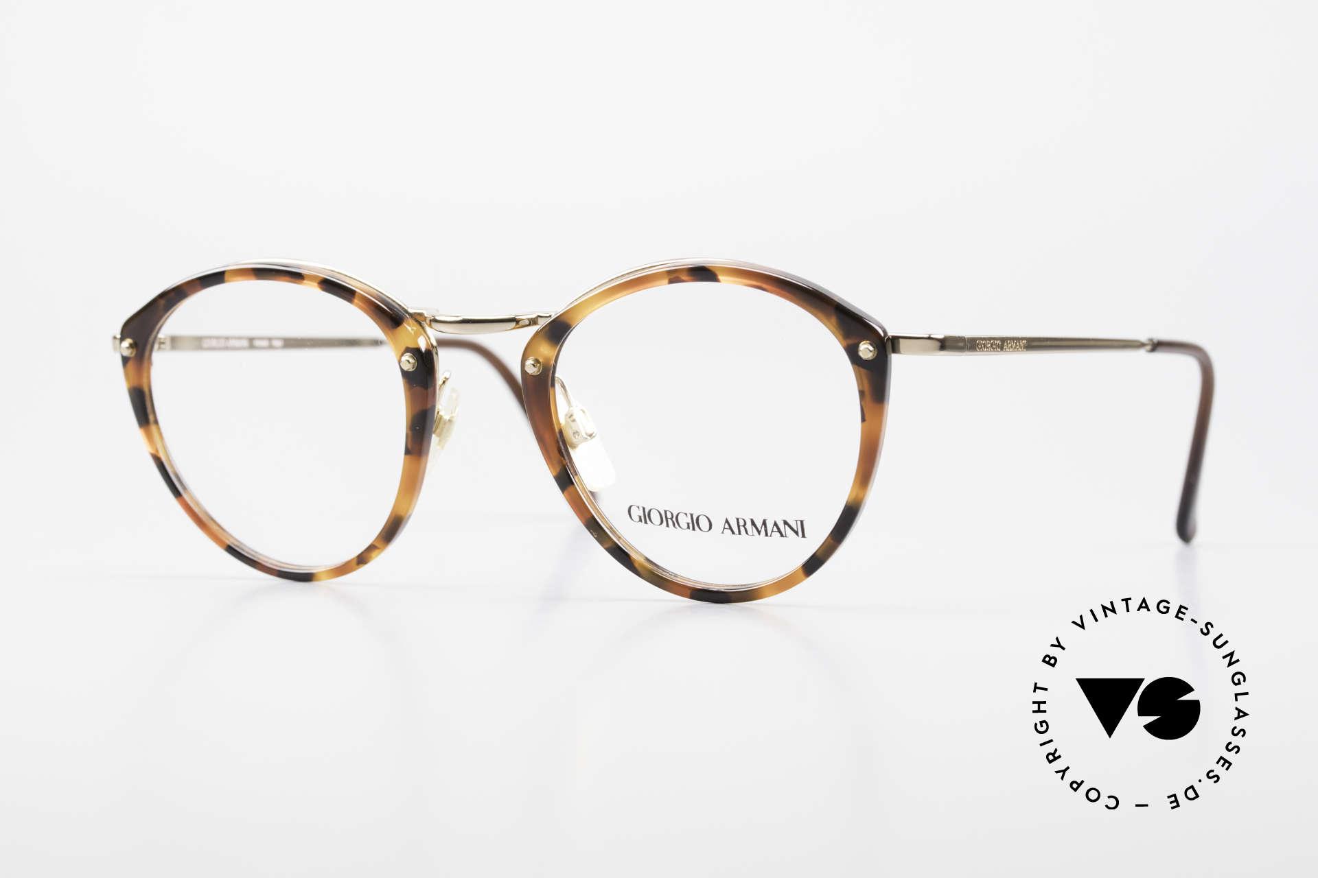Giorgio Armani 354 No Retro Glasses 80's Frame, vintage designer eyeglass-frame by GIORGIO ARMANI, Made for Men and Women