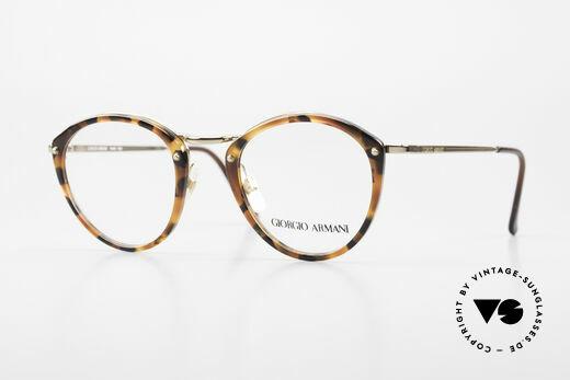 Giorgio Armani 354 No Retro Glasses 80's Frame Details