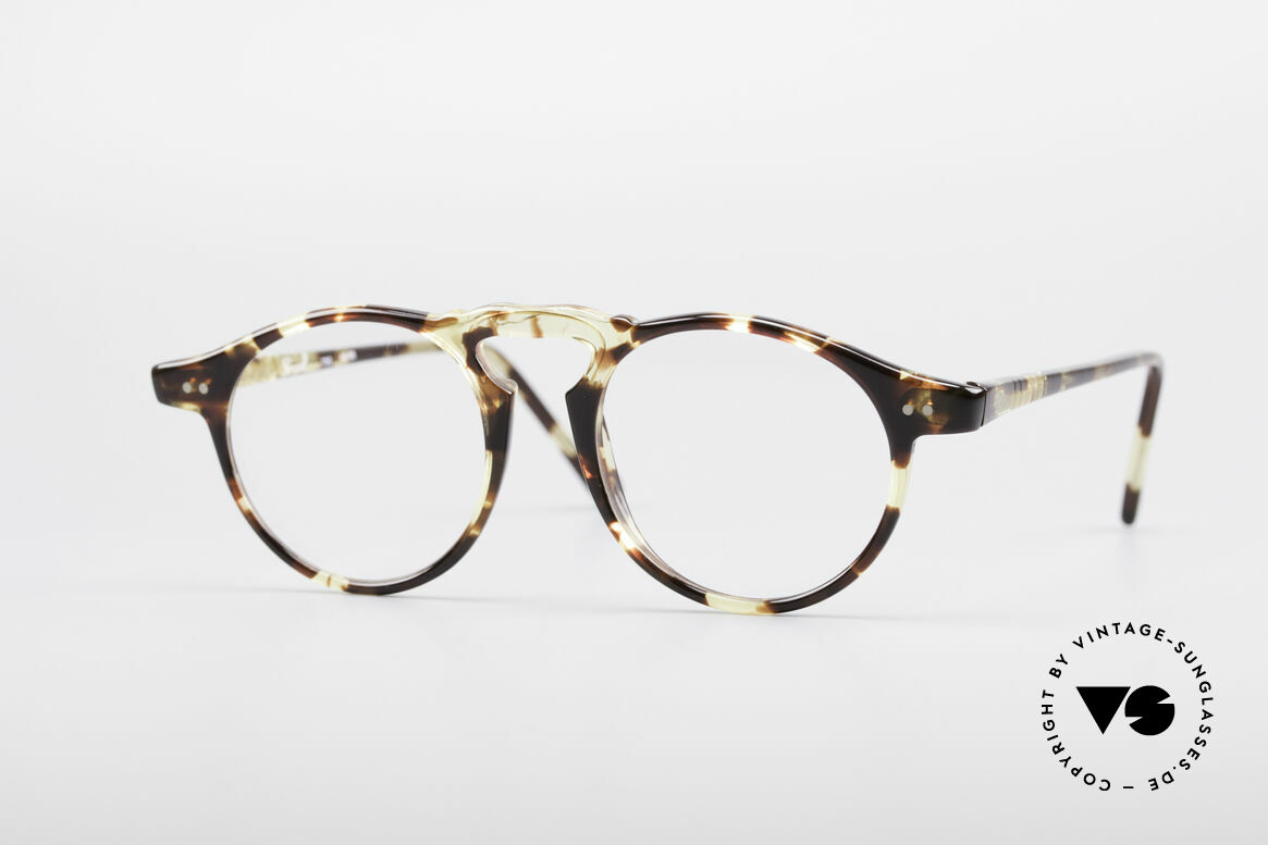 Persol 750 Ratti 80's Panto Glasses, classic vintage eyeglass-frame by PERSOL RATTI, Made for Men and Women
