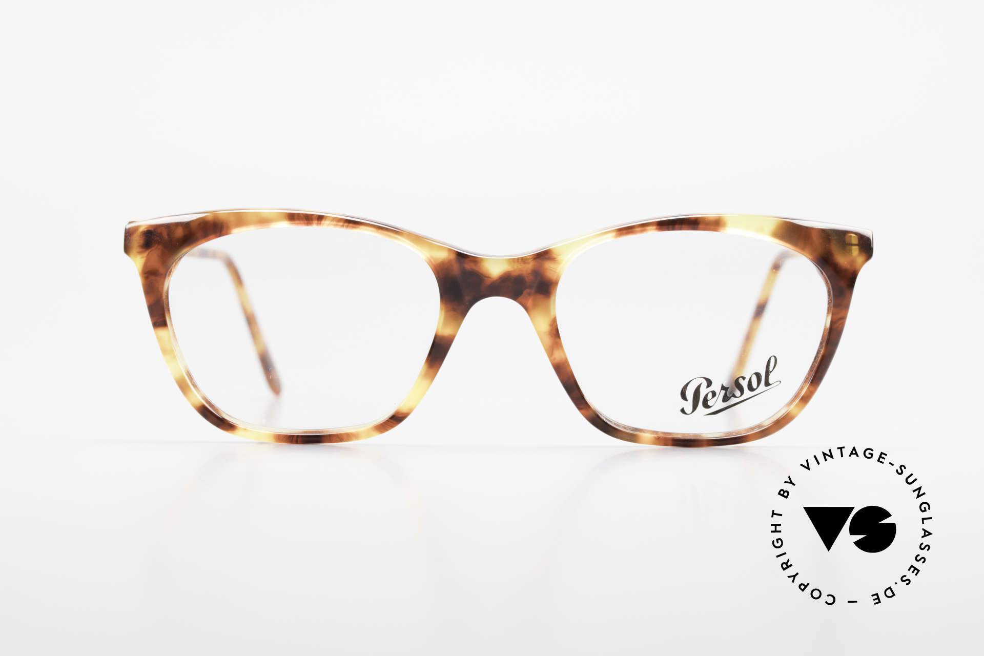 Persol 09194 Classic Vintage Frame 90's, elegant vintage glasses of the 90's by Persol, Made for Women