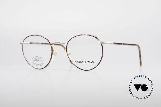 Giorgio Armani 186 Classic 90's Panto Frame Details