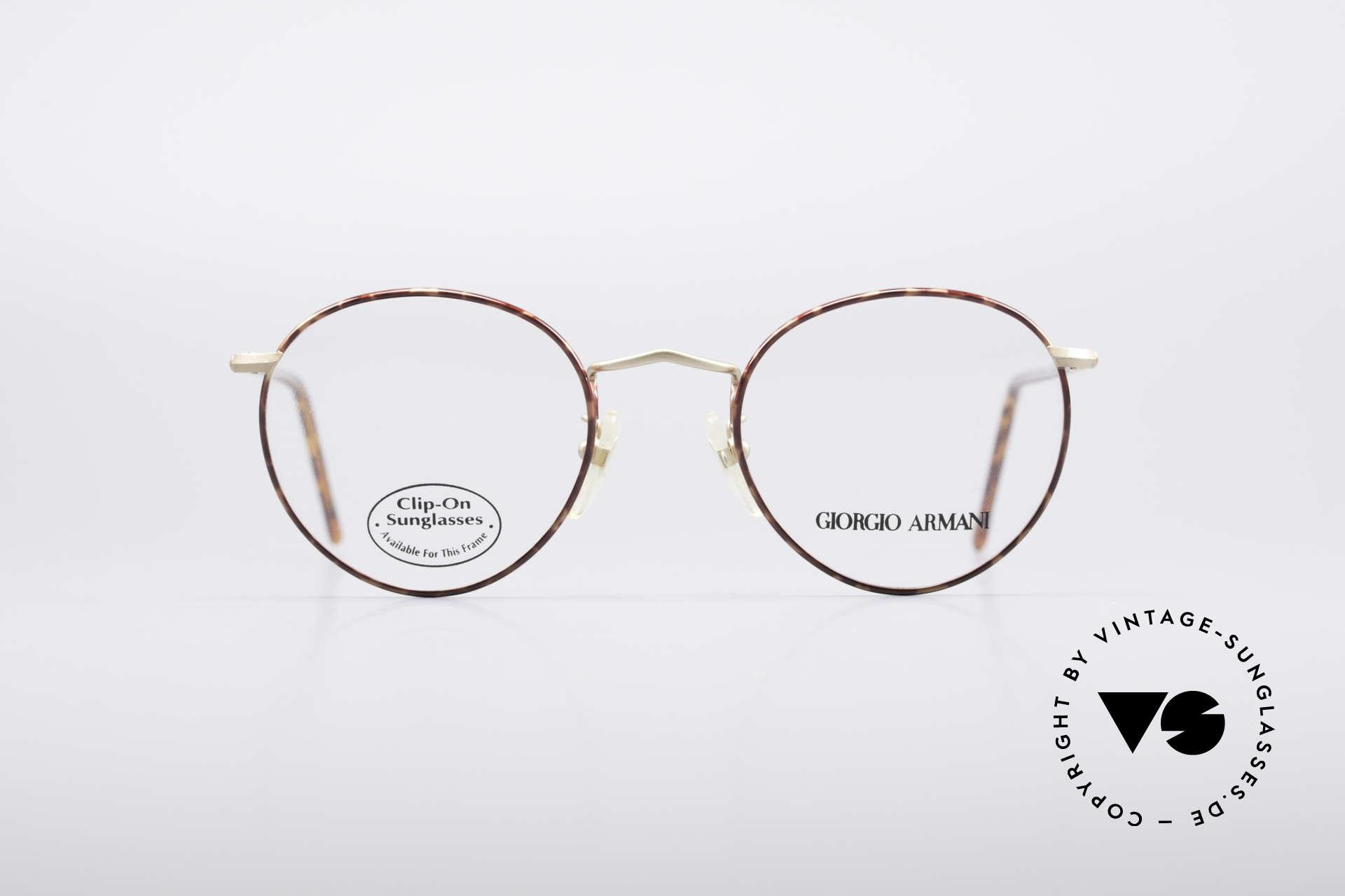 99229e28036f Glasses Giorgio Armani 186 Classic 90 s Panto Frame