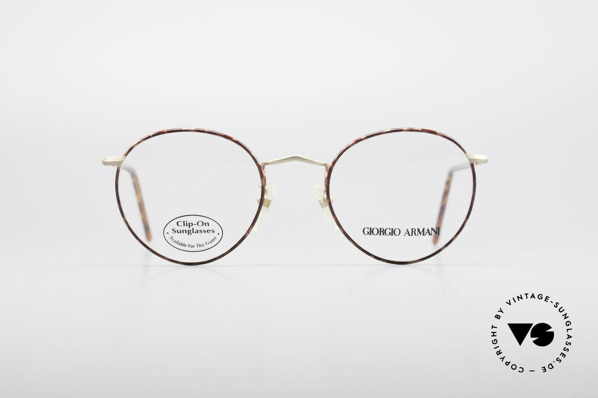 Giorgio Armani 186 Classic 90's Panto Frame