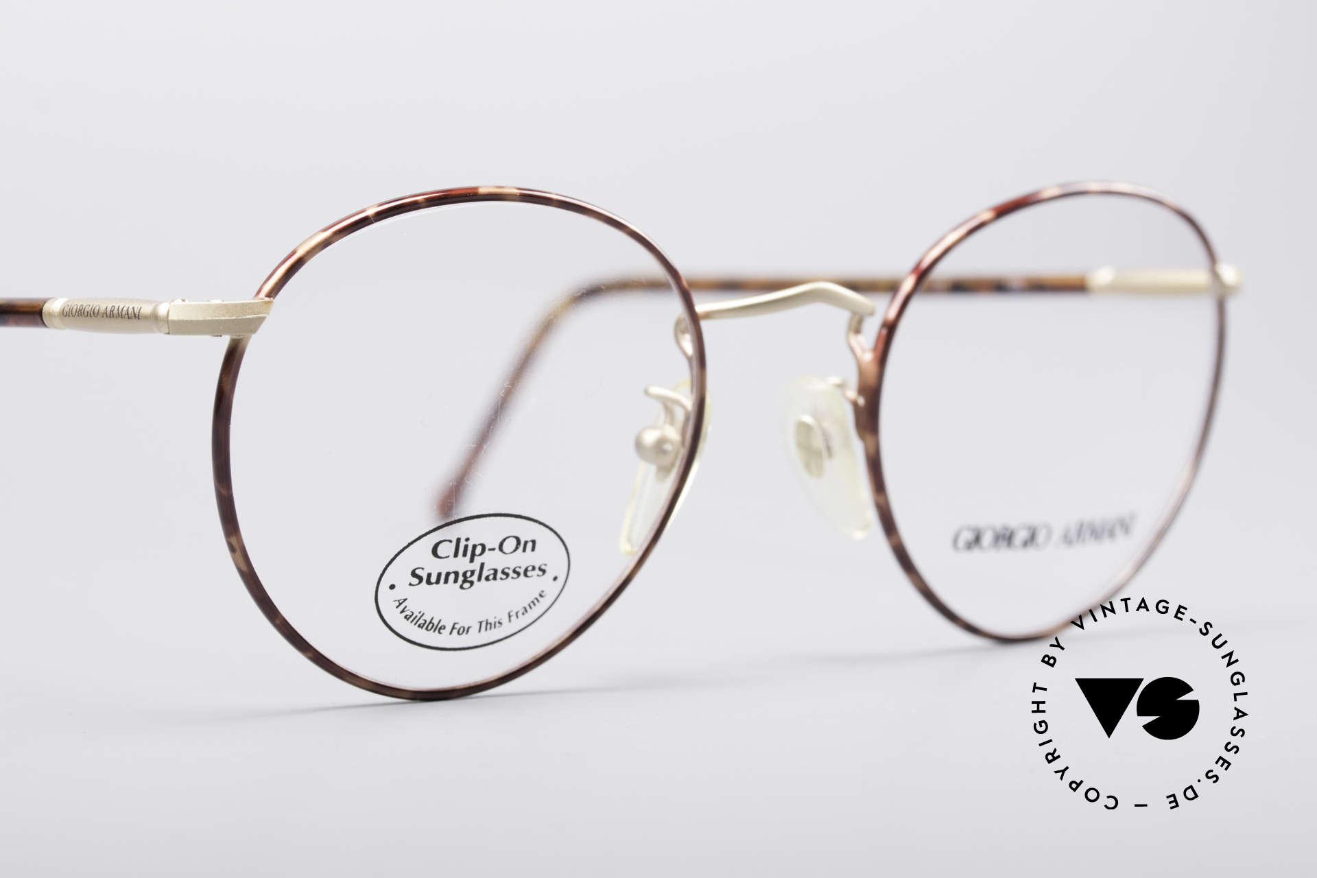 Giorgio Armani 186 Classic 90's Panto Frame, unworn rarity (like all our vintage designer frames), Made for Men