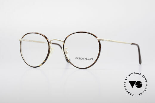 Giorgio Armani 112 90's Panto Eyeglasses Details