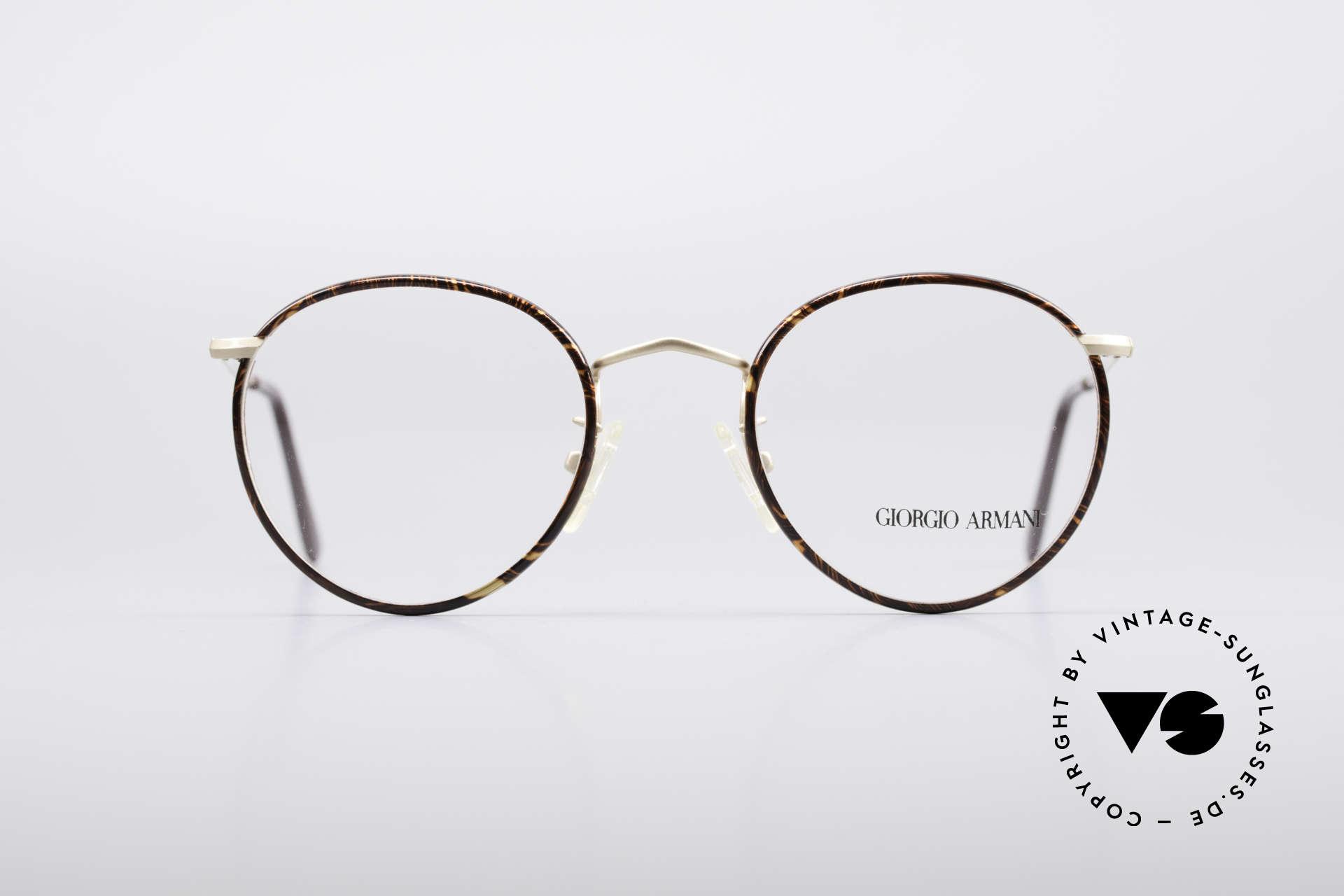 913fd13778 Giorgio Armani 112 90's Panto Eyeglasses