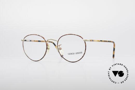 Giorgio Armani 138 Panto Vintage Frame Details