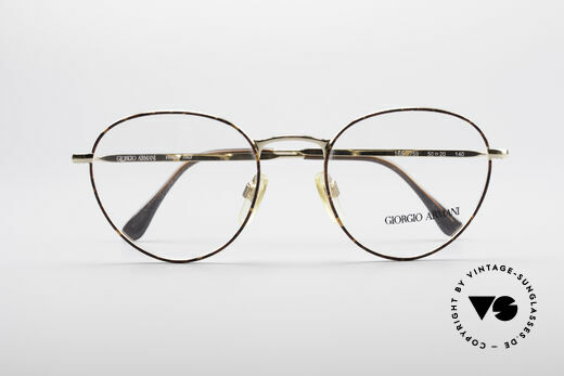 Giorgio Armani 165 Panto Vintage Glasses, NO retro specs, but a unique 30 years old ORIGINAL!, Made for Men