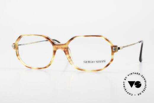 Giorgio Armani 349 No Retro Glasses Vintage Frame Details