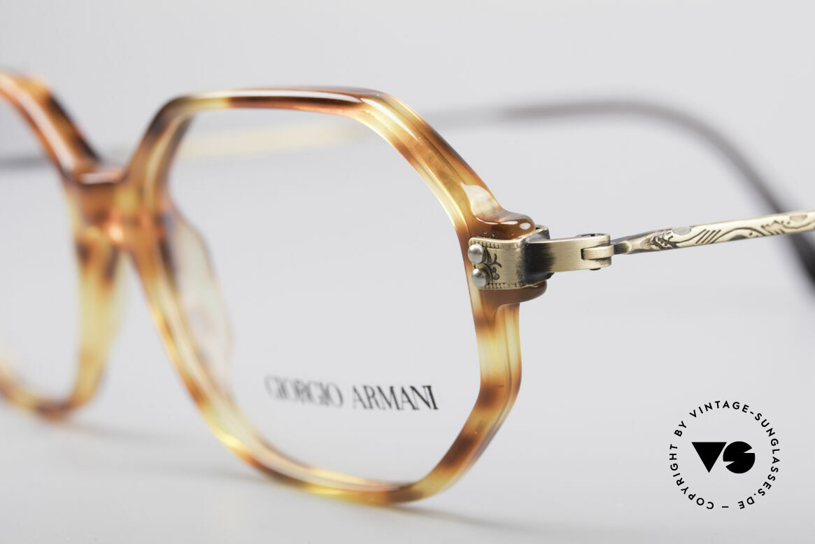 Giorgio Armani 349 No Retro Glasses Vintage Frame, unworn (like all our rare old designer glasses), Made for Men and Women