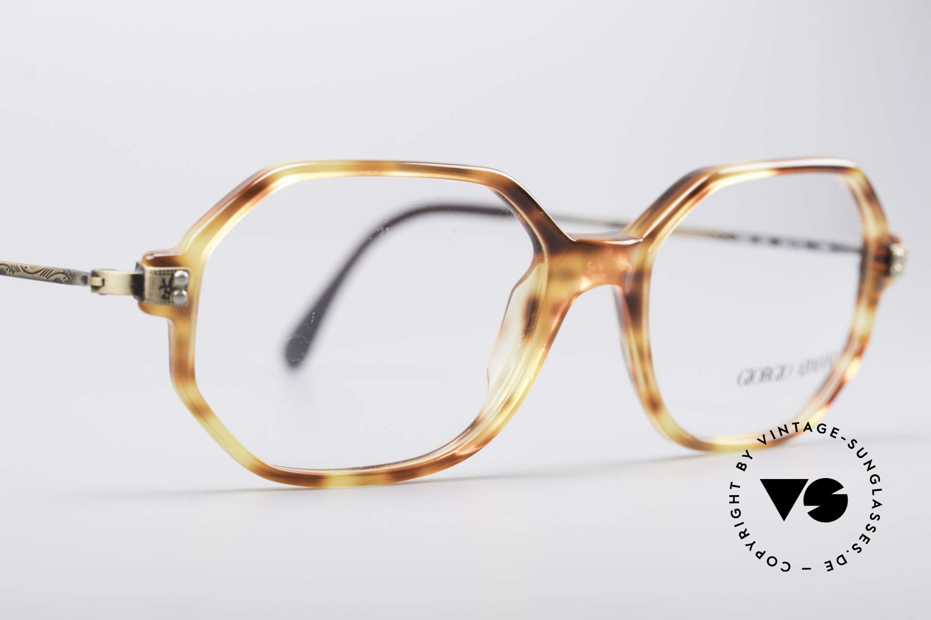 Giorgio Armani 349 No Retro Glasses Vintage Frame, NO retro specs, but an old original from 1990!, Made for Men and Women