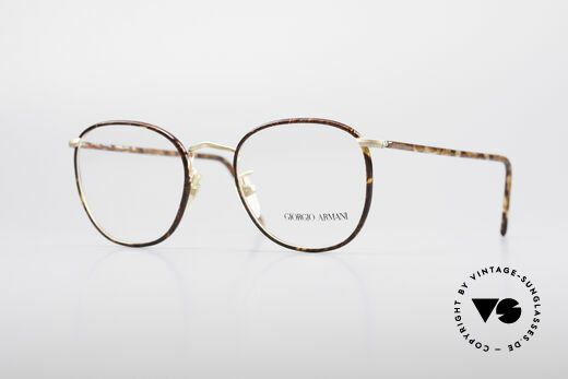 Giorgio Armani 141 Square Panto Glasses Details