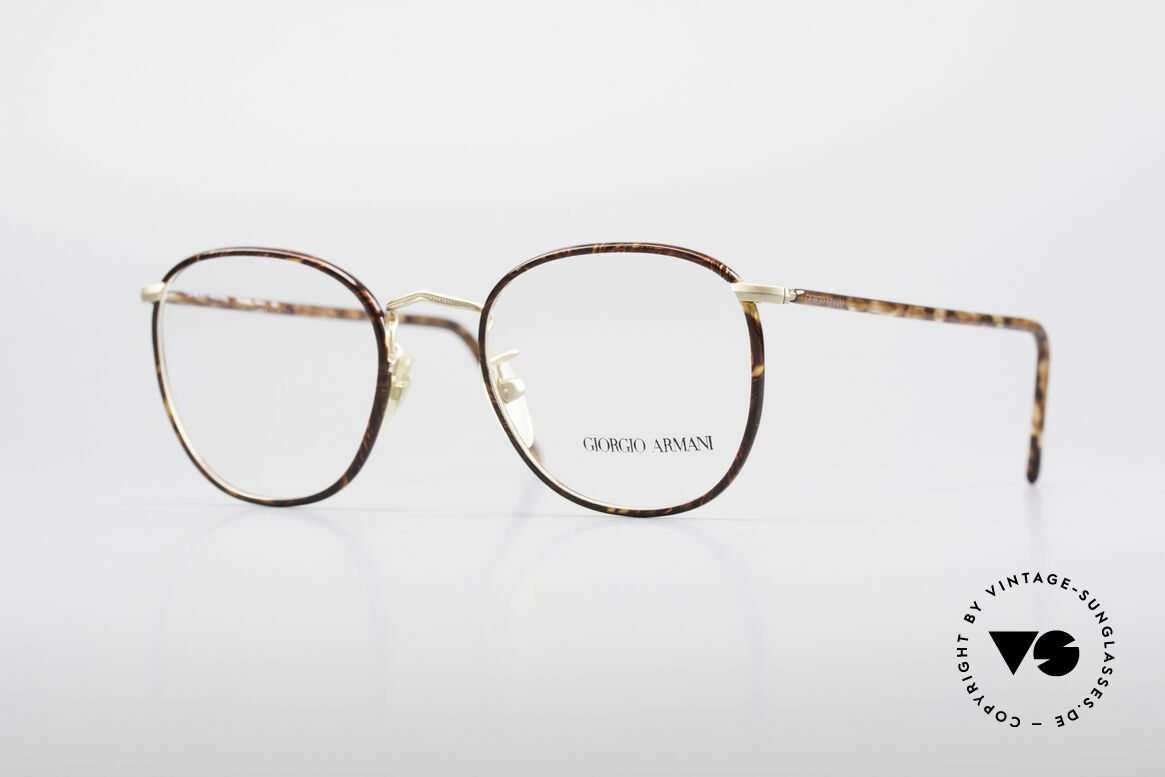 Giorgio Armani 141 Square Panto Glasses, timeless GIORGIO ARMANI vintage designer glasses, Made for Men