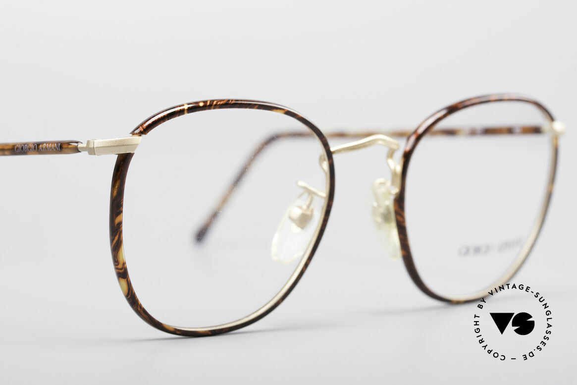 Giorgio Armani 141 Square Panto Glasses, NO RETRO EYEGLASSES, but true 1990's commodity!, Made for Men