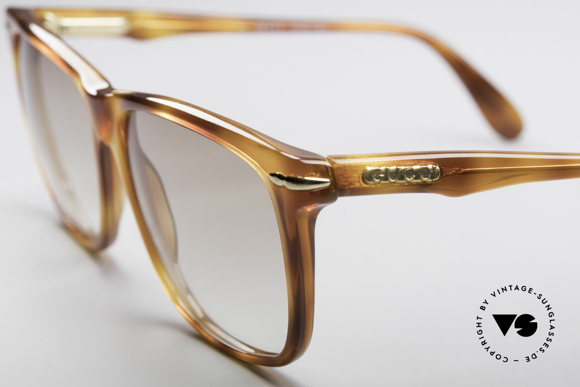 Gucci 1115 Classic 80's Sunglasses, unworn (like all our luxury designer sunglasses), Made for Men