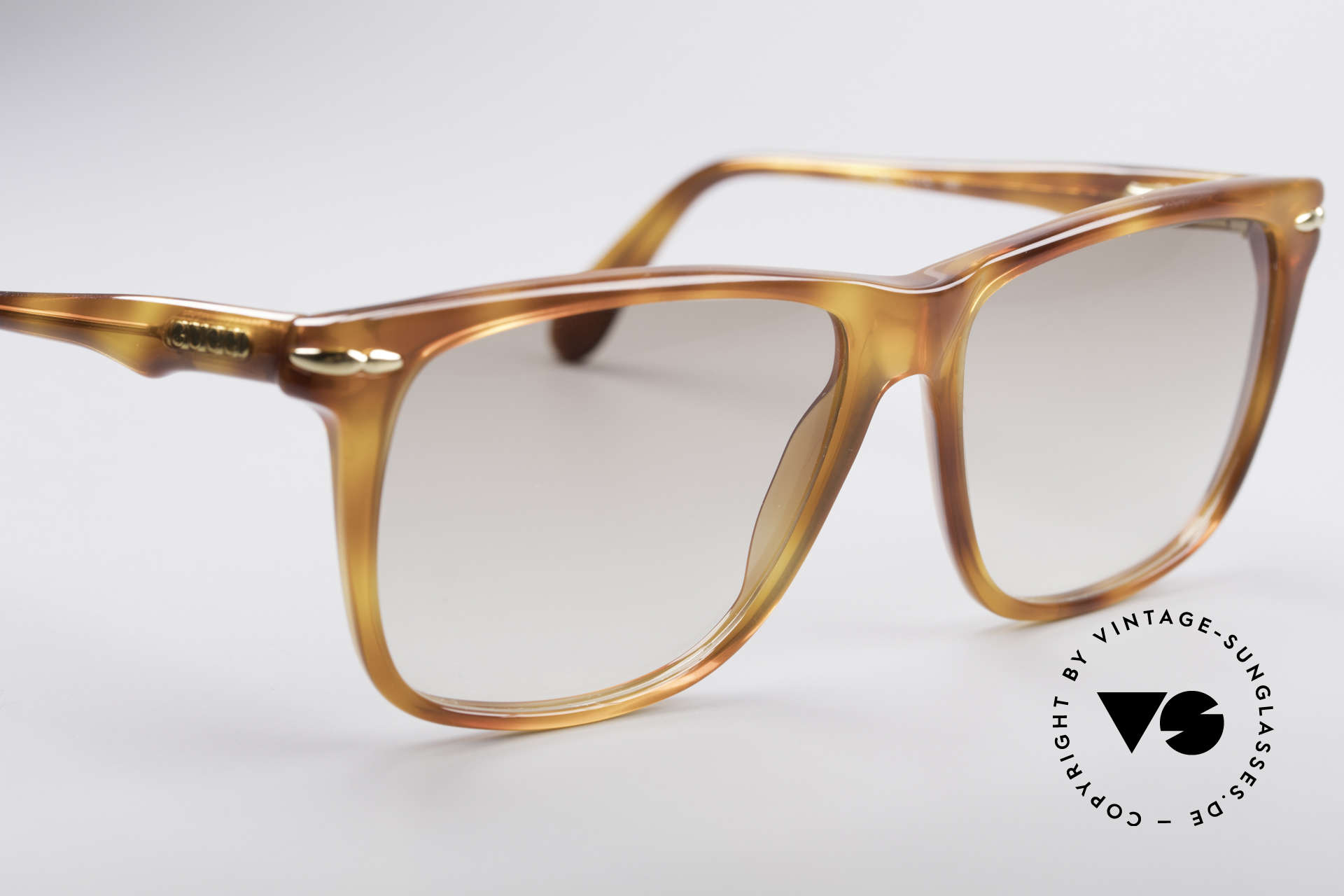 Gucci 1115 Classic 80's Sunglasses, NO RETRO SHADES but a 30 years old ORIGINAL, Made for Men