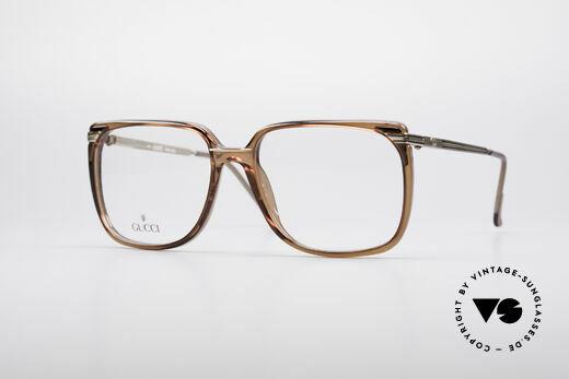 Gucci 1302 Classic 80's Eyeglasses Details