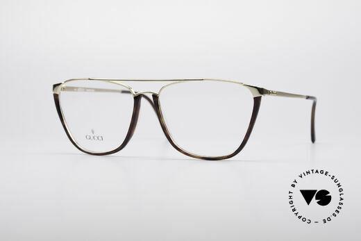 Gucci 1308 90's Designer Frame Details