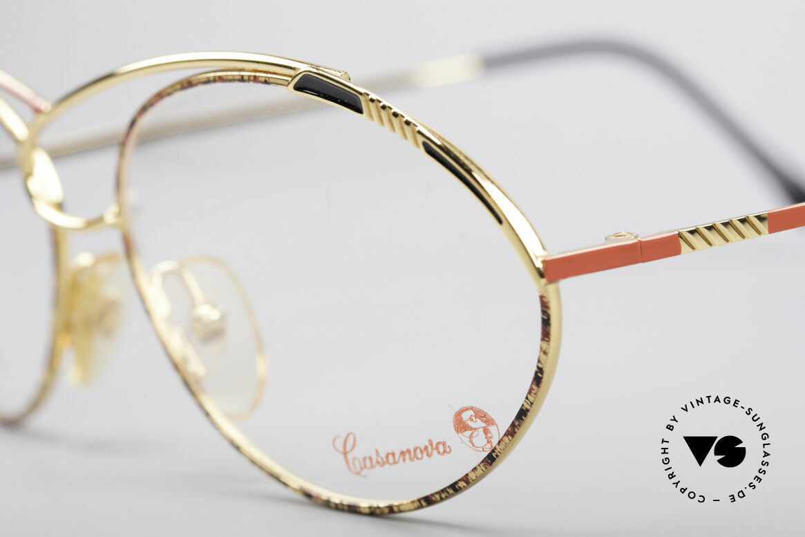 Casanova LC13 24kt Gold Plated Glasses, a true rarity and collector's item (belongs in a museum), Made for Women