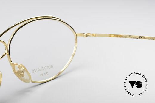 Casanova LC13 24kt Gold Plated Glasses, NO retro glasses, but an unique old designer ORIGINAL!, Made for Women