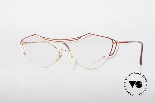 Casanova LC9 80's Art Eyeglasses Details
