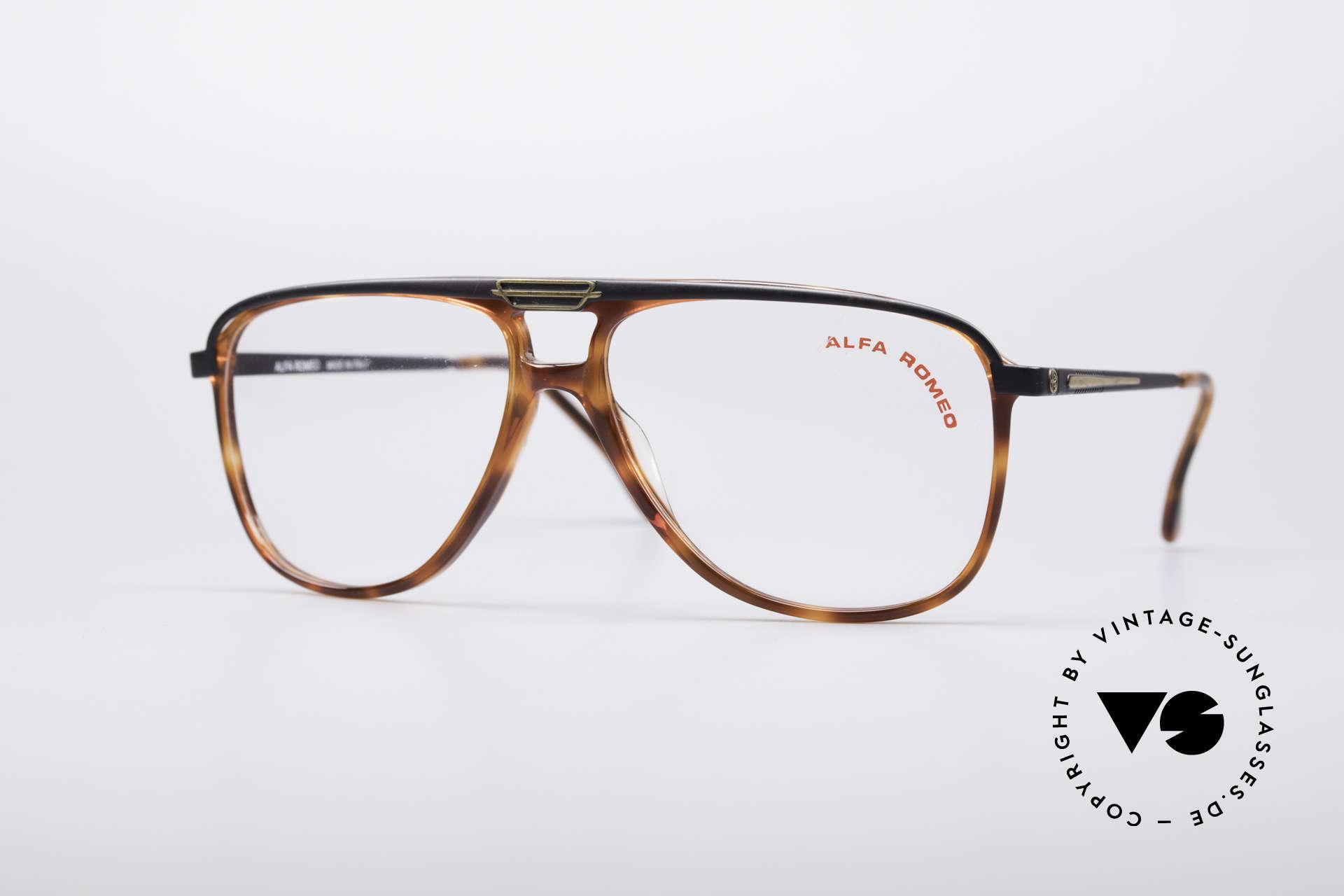 Alfa Romeo 95-22 Alfisti Vintage Frame, luxury Italian vintage designer glasses by Alfa Romeo, Made for Men