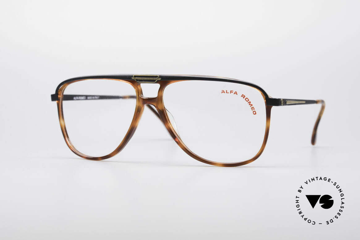 Alfa Romeo 95-22 Alfisti Vintage Frame, luxury Italian vintage designer glasses by Alfa Romeo, Made for Men