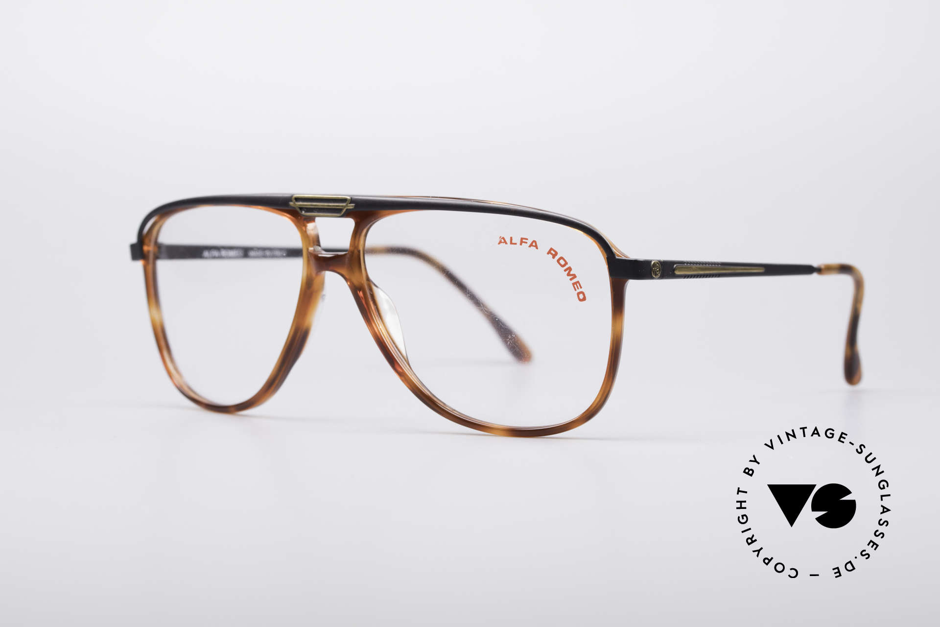Alfa Romeo 95-22 Alfisti Vintage Frame, Alfa's answer to the classic aviator design (size 59°15), Made for Men