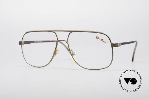 Alfa Romeo 882-21 80's Vintage Glasses Details