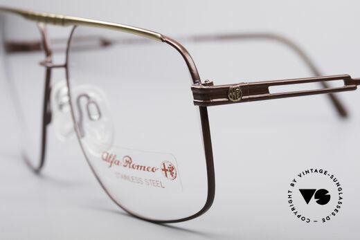 Alfa Romeo 60-252 80's Vintage Glasses