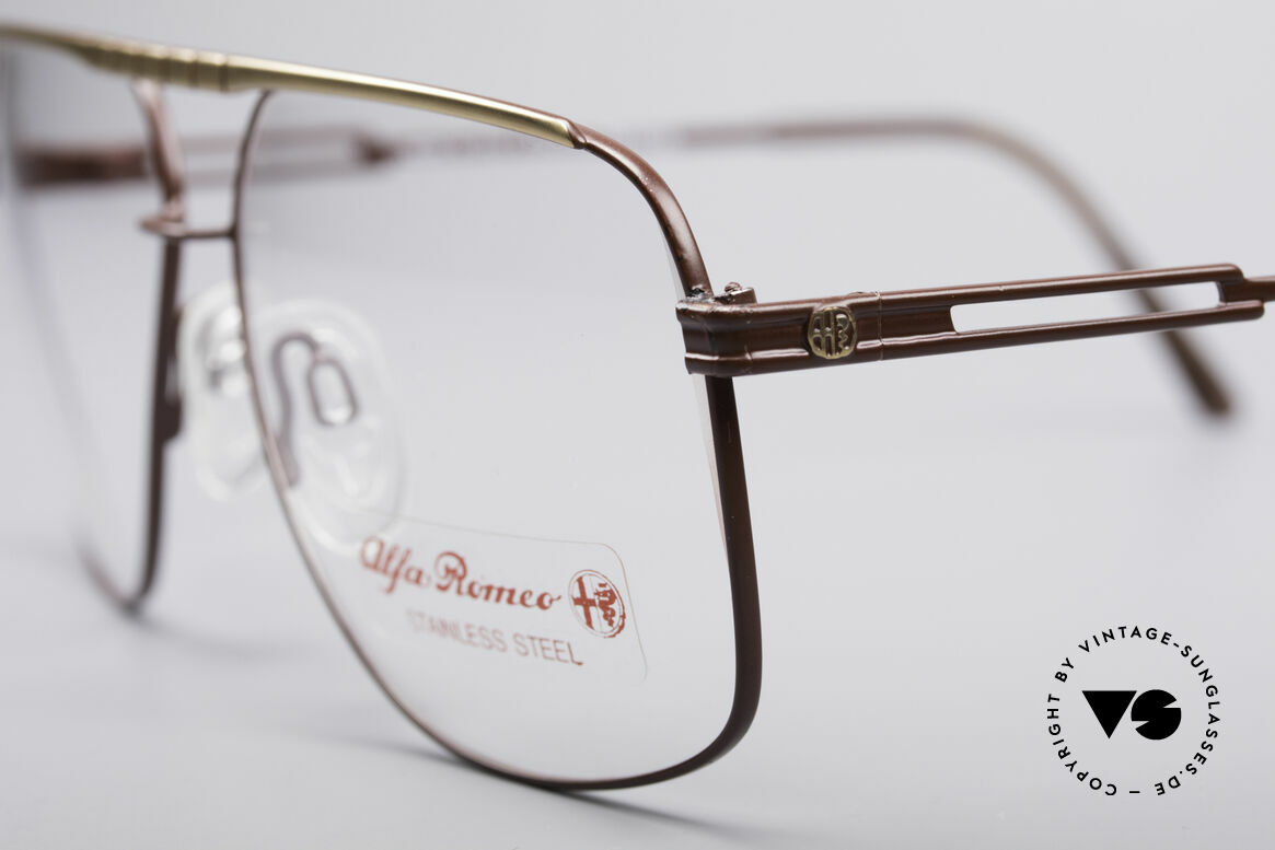 Alfa Romeo 60-252 80's Vintage Glasses, legendary Italian accessory for your classic sports car, Made for Men