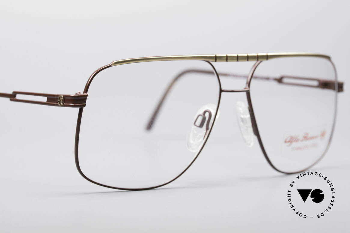 Alfa Romeo 60-252 80's Vintage Glasses, unworn (like all our rare 1980's ALFA ROMEO frames), Made for Men