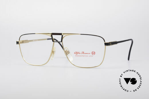 Alfa Romeo 119-603 Classic 80's Glasses Details