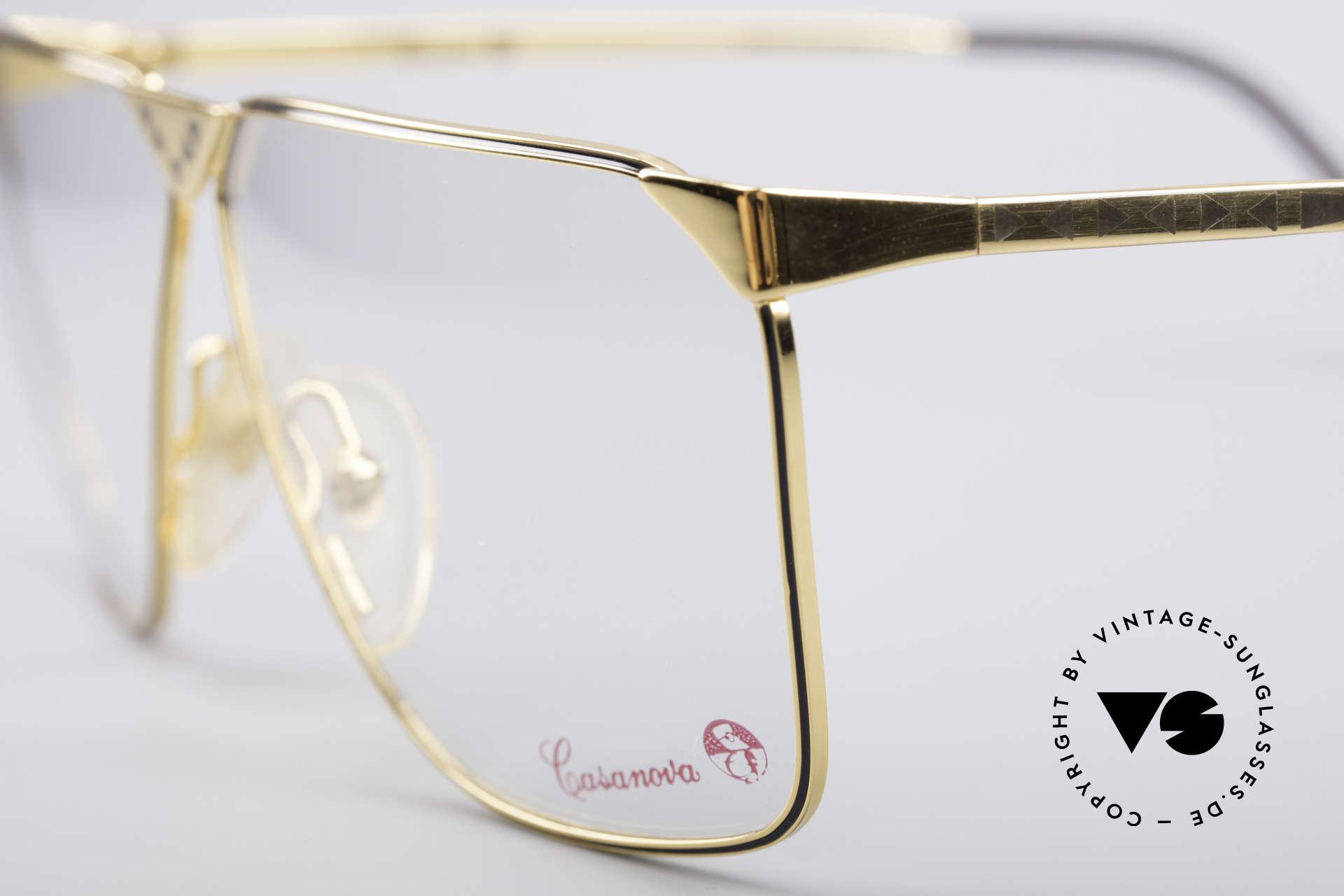 Casanova NM9 No Retro 80's Vintage Glasses, limited-lot 1980's production (rare, costly, precious), Made for Men