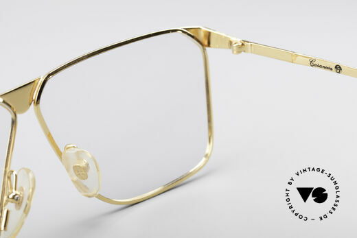 Casanova NM9 No Retro 80's Vintage Glasses, demo lenses can be replaced with optical (sun)lenses, Made for Men