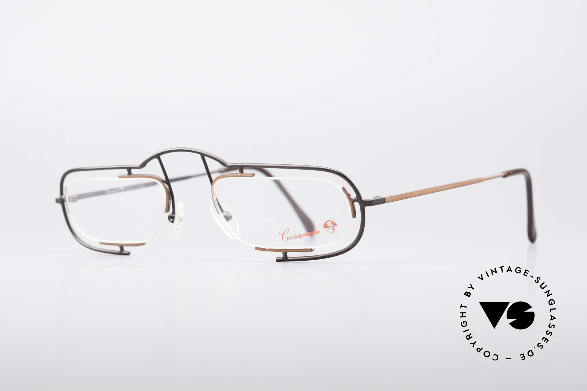 Casanova Clayberg Rare Vintage Eyglass Frame, premium quality (lightweight) & pleasant to wear, Made for Men and Women