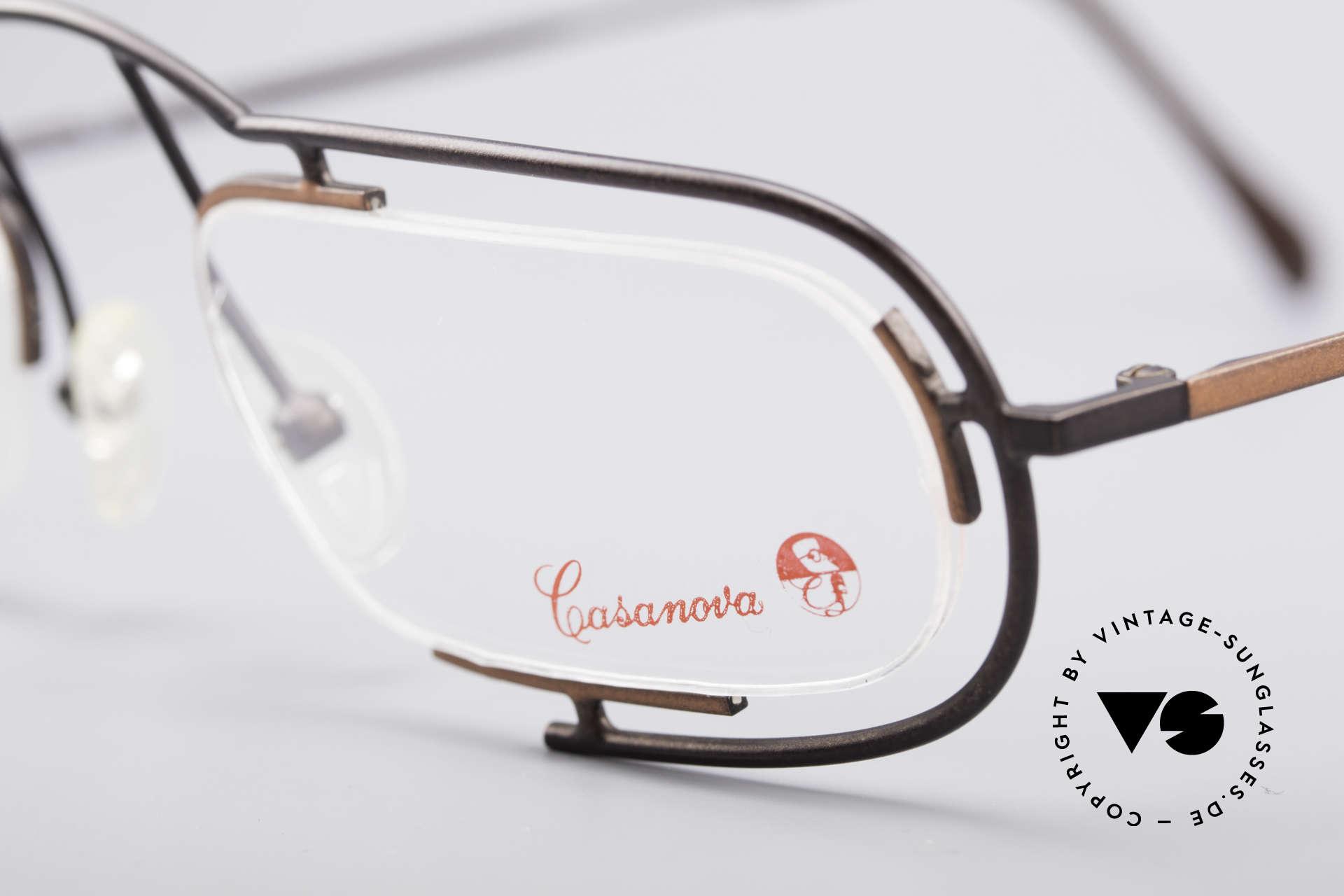 Casanova Clayberg Rare Vintage Eyglass Frame, unworn (like all our rare vintage designer frames), Made for Men and Women