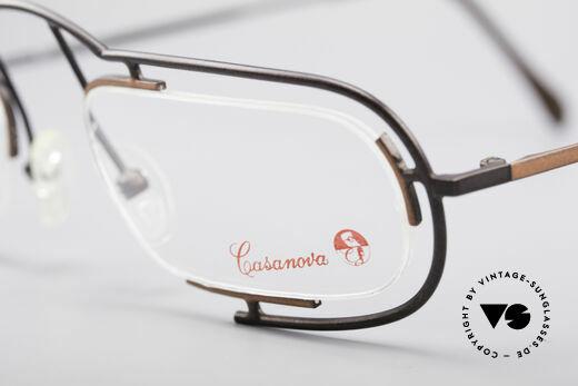 Casanova Clayberg Rare Vintage Eyglass Frame