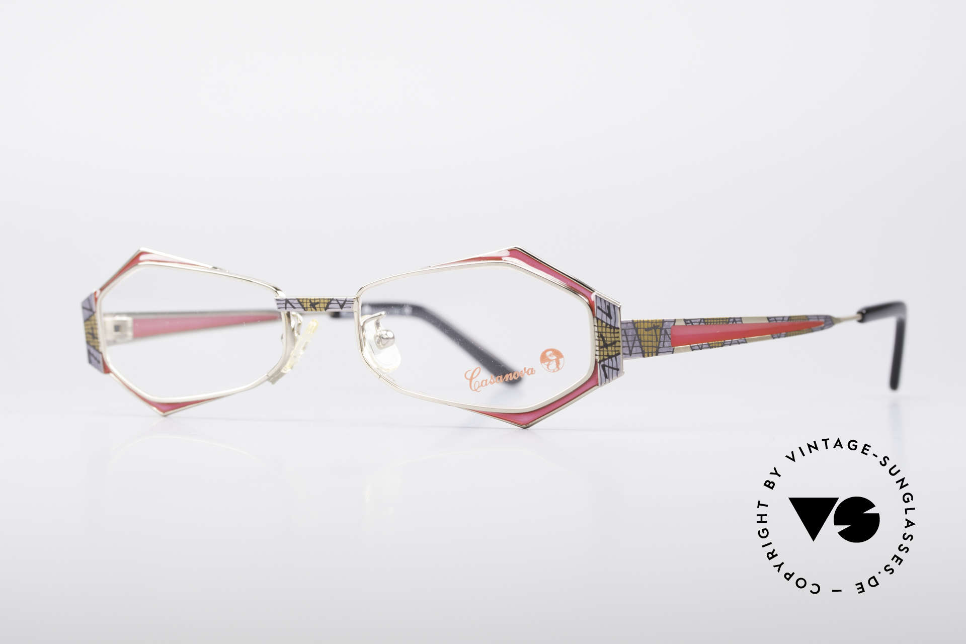 Casanova LC54 Ladies Vintage Frame, really an extraordinary designer frame; tuly unique, Made for Women
