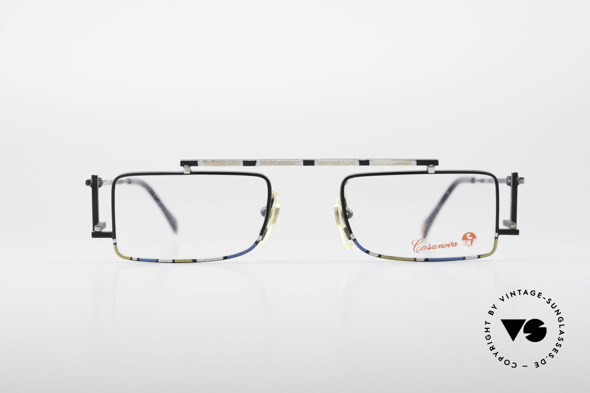 Casanova RVC3 Industrial Steampunk Frame, great frame construction of various geometrical forms, Made for Men and Women