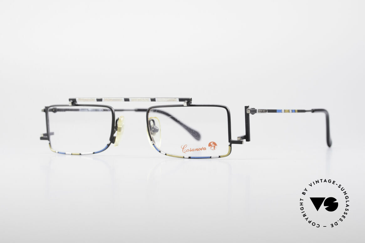 Casanova RVC3 Industrial Steampunk Frame, called as 'steampunk' or 'industrial frame' these days, Made for Men and Women
