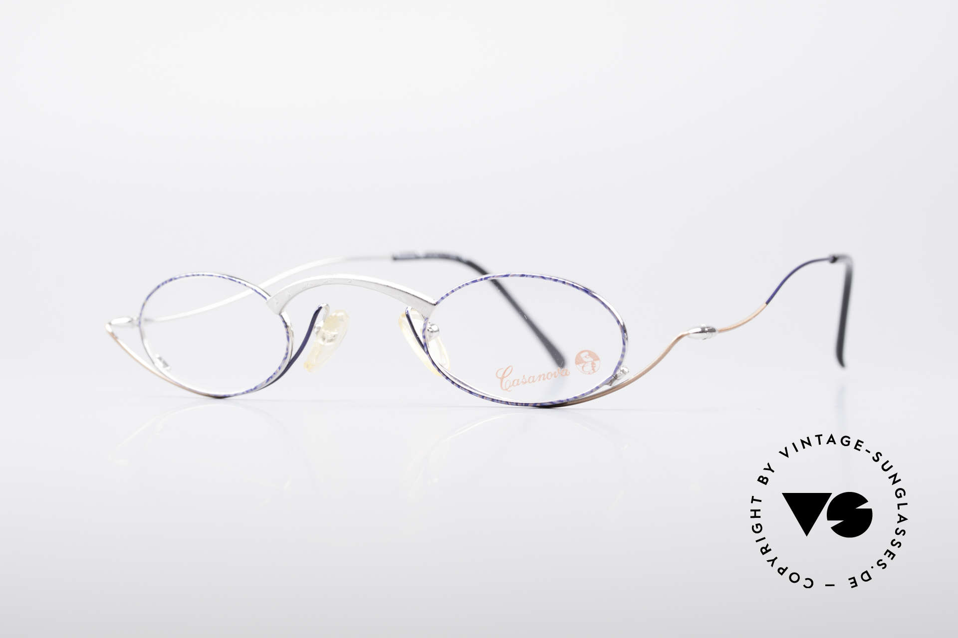 Casanova LC44 Artistic Reading Glasses, top-notch craftsmanship & very subtle frame pattern, Made for Men and Women